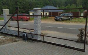 Изготовим ворота откатные